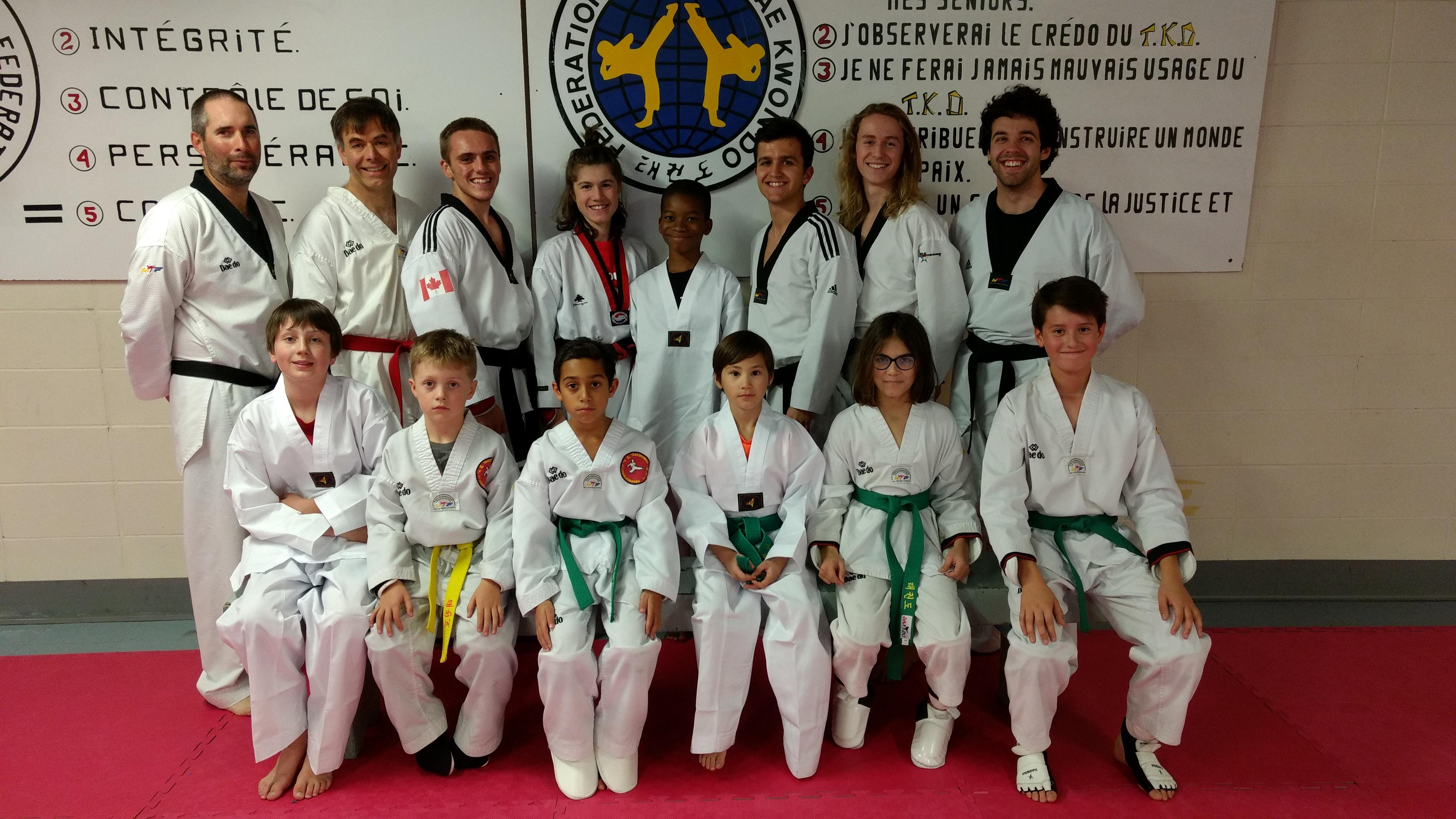 club taekwondo charlesbourg